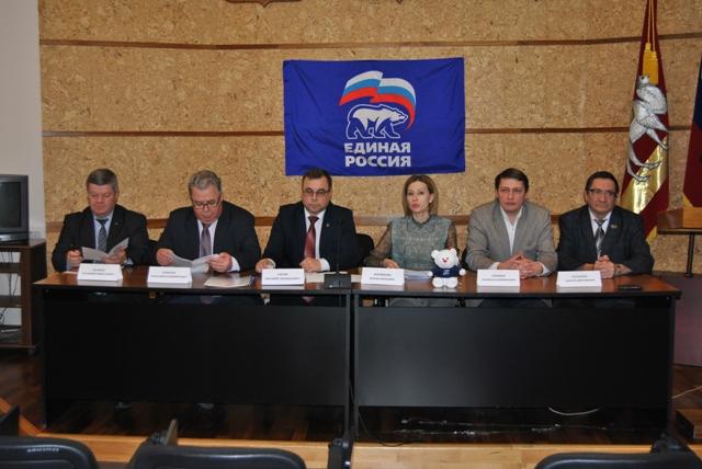 Врайонах области продолжаются Конференции местных отделений «Единой России»