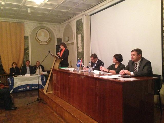 ВЦелинном местном отделении Партии «Единая Россия» состоялась отчетно-перевыборная конференция