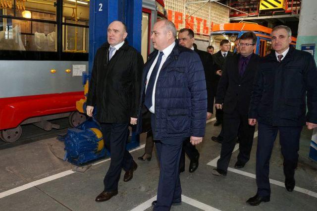 Борис Дубровский посетил вагоностроительный завод вУсть-Катаве