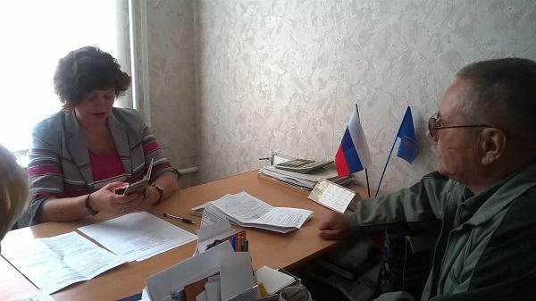 Марина Поддубная провела прием граждан в Коркино