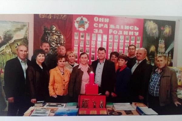 В Троицком районе прошла акция «Свеча памяти»