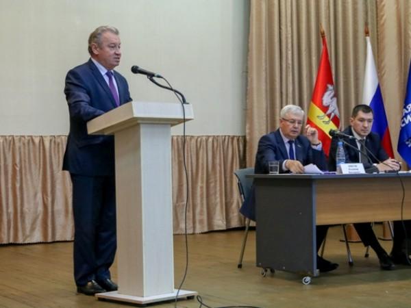 Региональные координаторы партпроектов отчитались о результатах работы