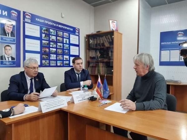 Владимир Мякуш и Марина Поддубная провели прием граждан