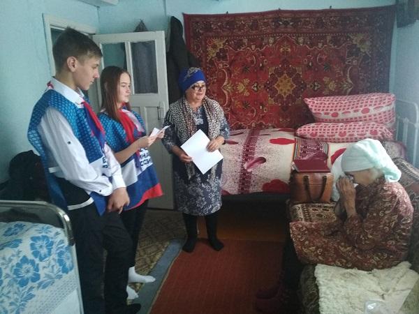 Партийцы Нагайбакского района присоединились к акции «Навстречу году 75-летия Великой Победы»