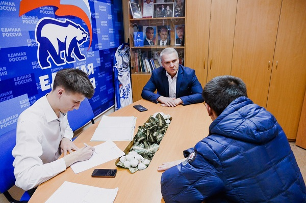 Юрий Панов провёл личный приём жителей своего округа